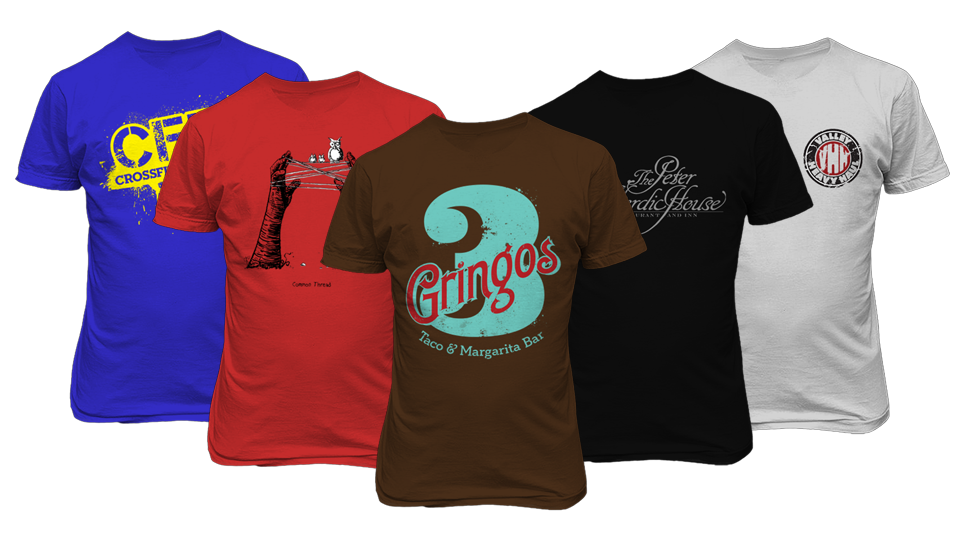 T-Shirts Printing Kingston | Printing Shark Kingston Ontario